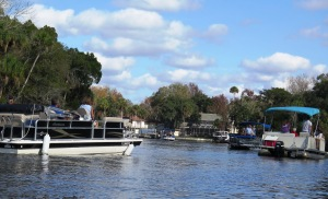 A Busy Homosassa River