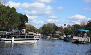 A Busy Homosassa River